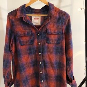 Red/blue Flannel